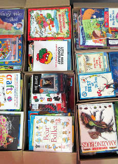 pallet of wholesale children's books