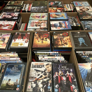 Wholesale boxes of DVD's